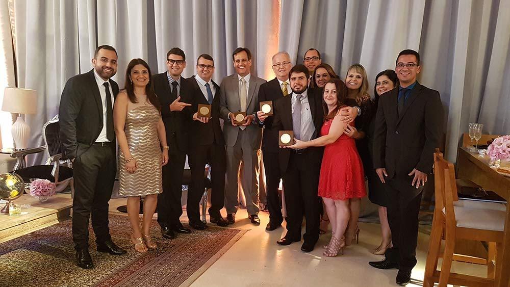 Premiação para o IHEF Laboratório